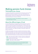 Making pension fund choices